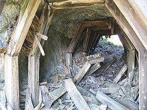 North Pacific Coast Railroad - Inside the tunnel