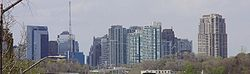 North York skyline in 2009