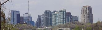 North York - North York skyline in May 2009.
