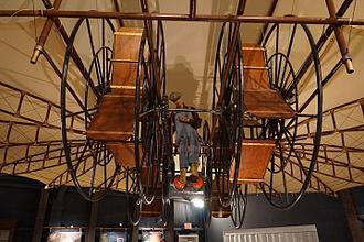 Ezekiel Airship - Ezekiel Airship replica, view from front and below
