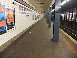 Northern Boulevard (IND Queens Boulevard Line) - Manhattan bound platform.