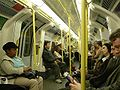 Northern Line carriage - internal - night - London - 240404.jpg