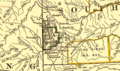 Northern Pacific Railroad map circa 1900 Black Hills.png