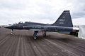 Northrop T-38C Talon LSide SNF 16April2010 (14627171161).jpg