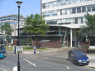 Northumbria University - Sandyford Road site, opposite Newcastle Civic Centre