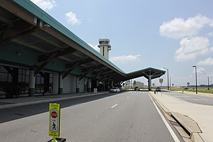 Northwest Florida Beaches International Airport - Roadway in front of airport