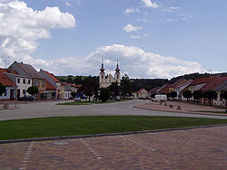 Skyline of Nová Říše