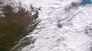 Tornado outbreak of November 17, 2013 - Storms associated with the outbreak over the Midwest United States on November 17