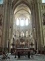 Noyon (60), cathédrale Notre-Dame, croisée du transept, vue vers l'est 3.jpg