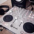 Numark Omni Control + Sennheiser HD-25-1 II + Behringer MS40.jpg