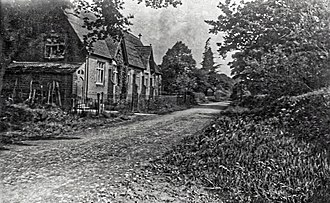 Nuthurst - Nuthurst School in the 19th century