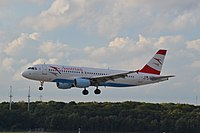 OE-LBI - A320 - Austrian Airlines