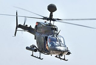 Bell OH-58 Kiowa series of scout helicopters