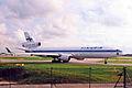 OH-LGA MD-11 Finnair MAN 03OCT98 (6897087761).jpg