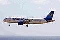 OY-VKS A320-214 Thos Cook Scand LPA 20JAN10 (5885991764).jpg