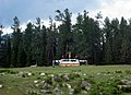 Oabo Mongol religious shrine erected in the Altay prefecture of northwest China in July 2012.jpg
