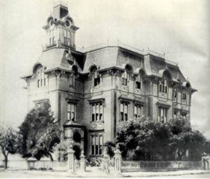 Oakland High School (Oakland, California) - Oakland High School, 1872-1895