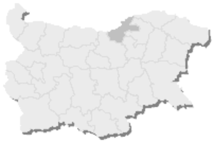 19th MMC – Ruse -  Map of Bulgaria, 19th MMC – Ruse is highlighted