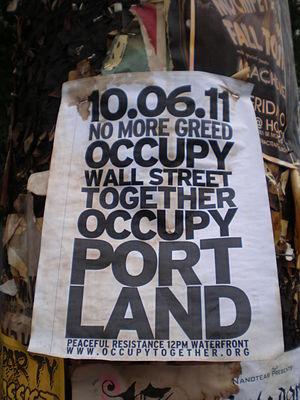 Occupy Portland - Occupy Portland poster