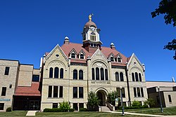 The Oconto County Courthouse in Oconto
