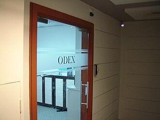Odex - ODEX's headquarters in International Plaza.