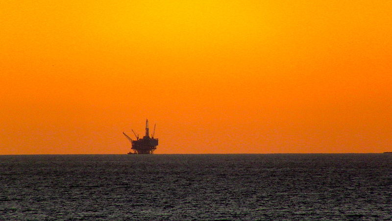 Off Shore Drilling Rig, Santa Barbara, CA, 6 December, 2011.JPG