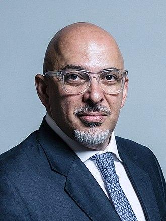 Nadhim Zahawi - Image: Official portrait of Nadhim Zahawi crop 2