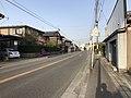 Oita Prefectural Road No.23 near Yanagigaura Station.jpg