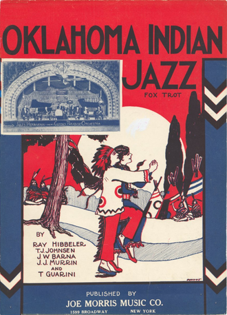 1923 in jazz - Oklahoma Indian Jazz