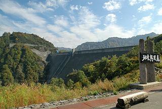 Okutadami Dam dam