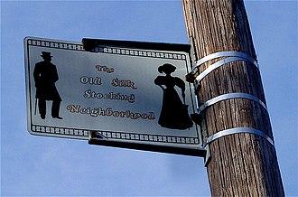 Old Silk Stocking Neighborhood - Neighborhood Markers