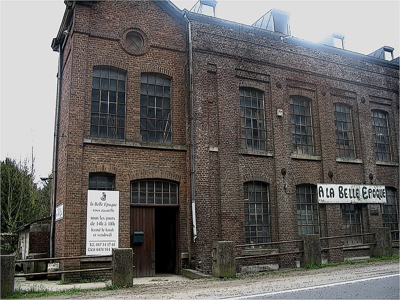 Old 19th Century Factory Building in Theux Belgium