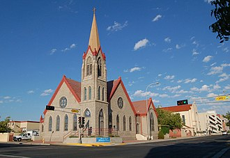 First Methodist Episcopal Church (Albuquerque, New Mexico) - Image: Old First Methodist Church Albuquerque