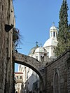 Old Jerusalem Via Dolorosa churches and arches.jpg
