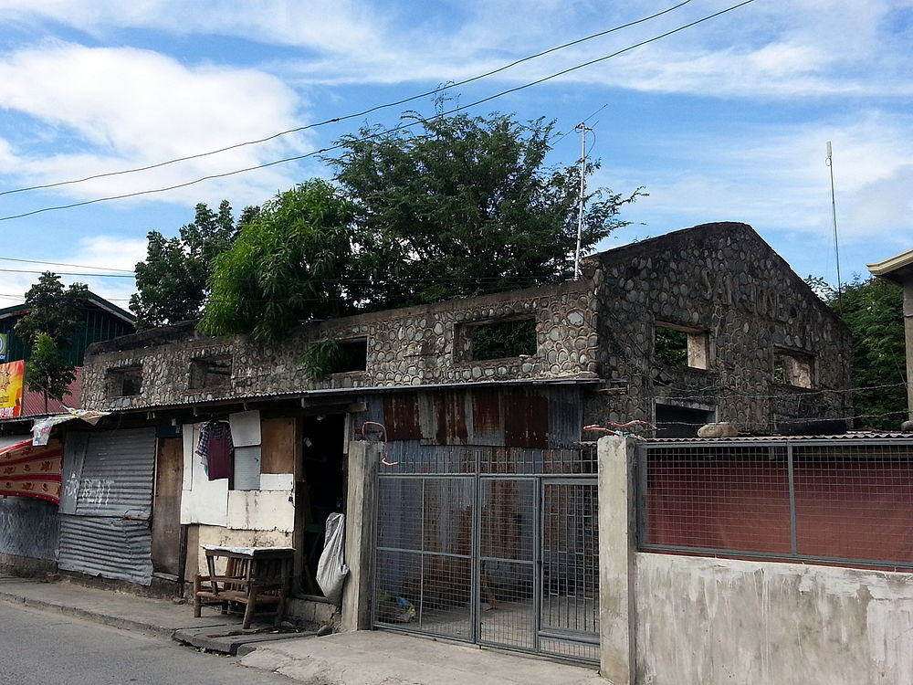 Ruins of the old PNR station in