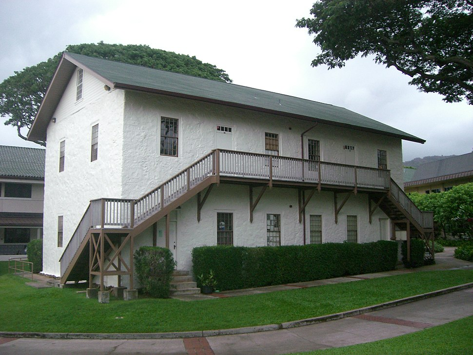 Old School Hall at Punahou School