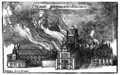 Old St. Paul's Cathedral in flames - Project Gutenberg eText 16531.png