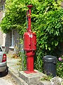 Old fuel pump, Sydling St Nicholas - geograph.org.uk - 907720.jpg