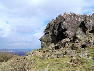 Beacon Hill, Leicestershire - Image: Old man beacon