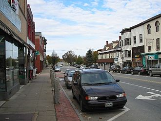 Old Town, Maine - Main Street