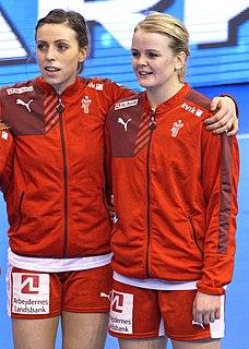 Stine Jørgensen Danish handball player