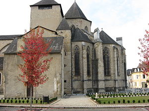 Gérard Roussel - The former Oloron Cathedral, now St Mary's Church.