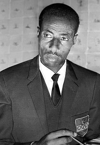1964 Summer Olympics - Marathoner Abebe Bikila