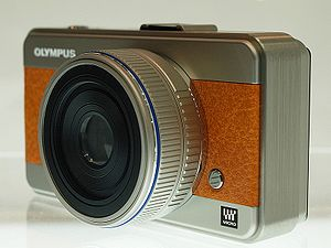 Micro Four Thirds system - Concept model of MFT camera by Olympus