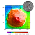 Olympus Mons - topography map.png