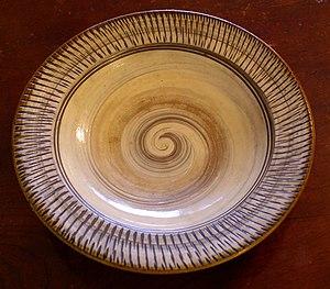 Onta ware - Onta slipware bowl
