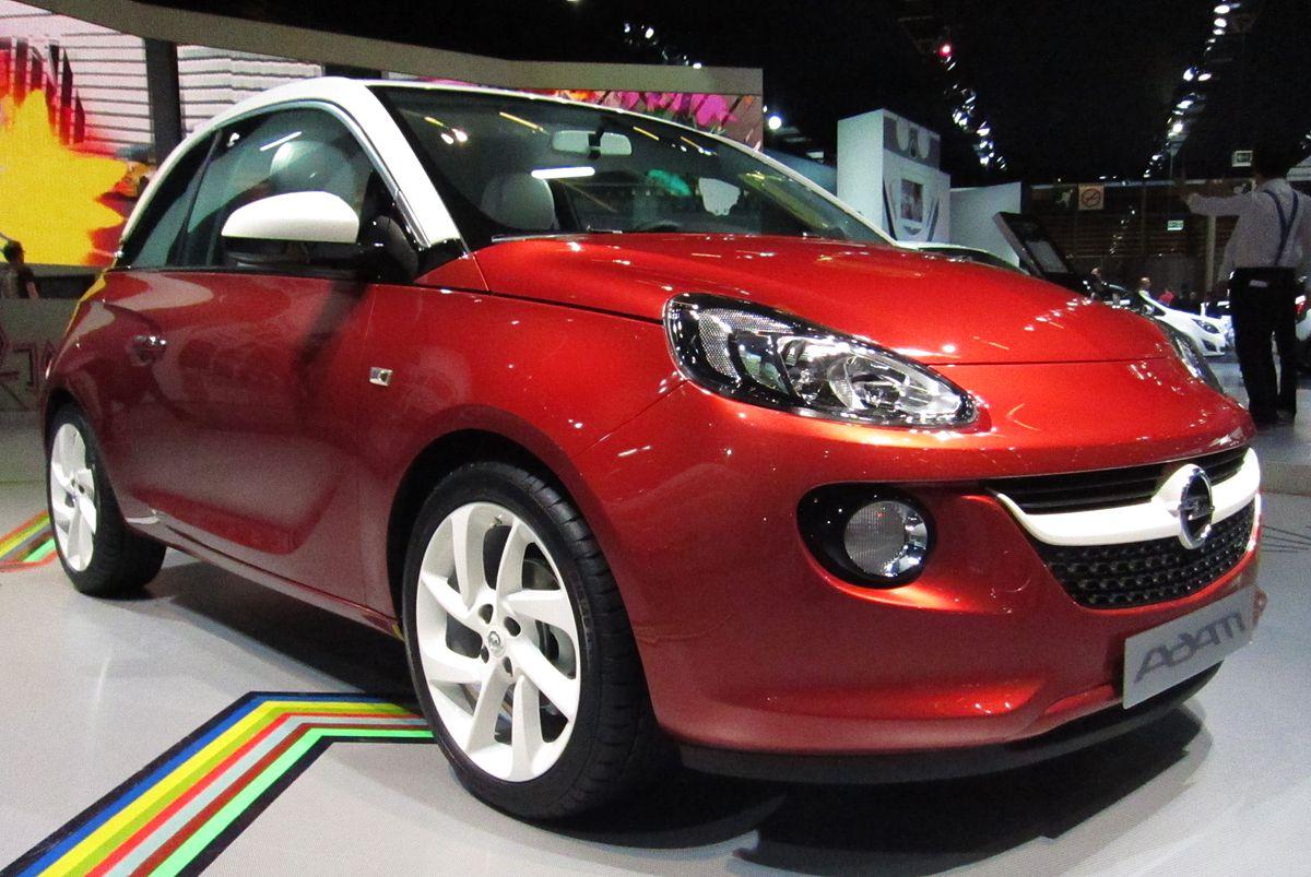 Px Opel Adam Front Quarter Red