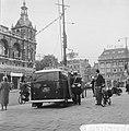 Operatie Leidsestraat gestart, mobilofoonwagen op het Leidseplein, Bestanddeelnr 911-5581.jpg