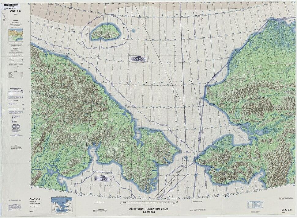 Operational Navigation Chart C-8, 2nd edition