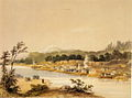 Oregon City 1845 by Warre.jpg